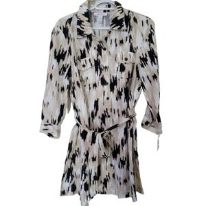 Style&Co 100% lenin  mini dress or tunix
